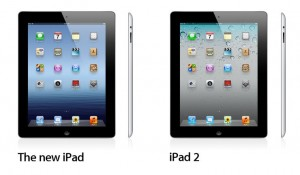 New iPad and iPad 2